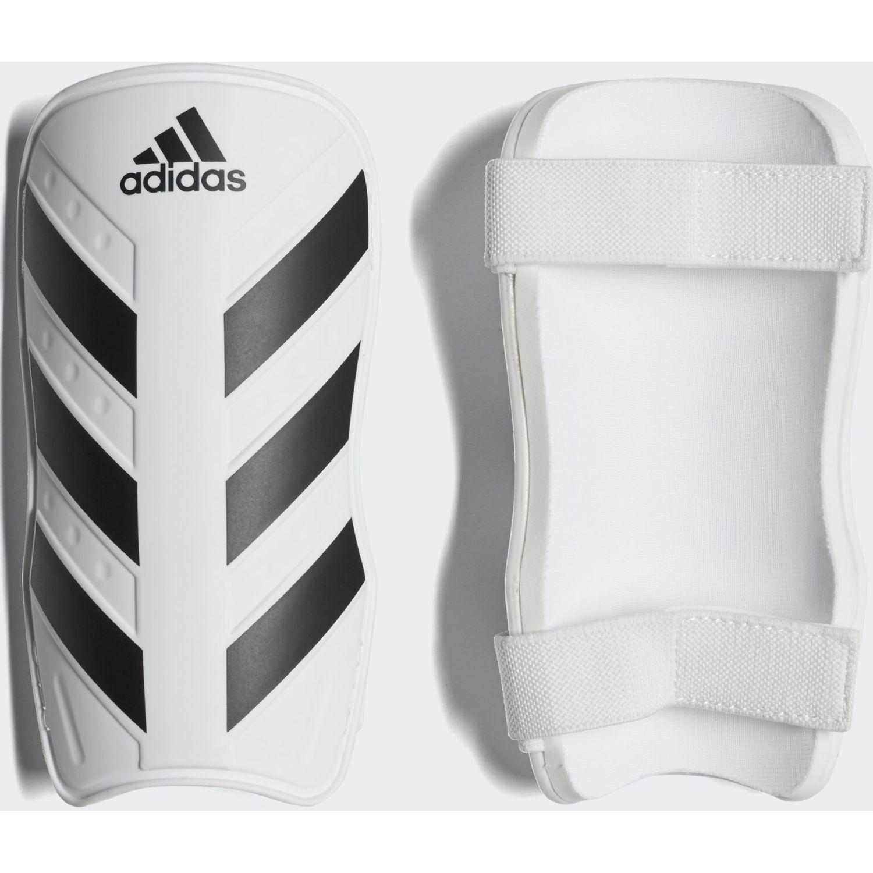 Adidas Everlite Blanco / negro Espinilleras