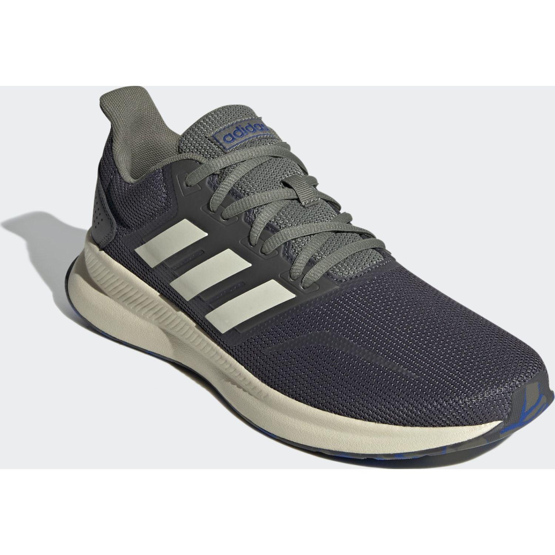 Adidas RUNFALCON Plomo Running en pista