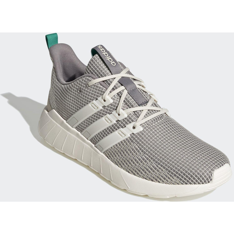 Adidas QUESTAR FLOW Gris / blanco Running en pista