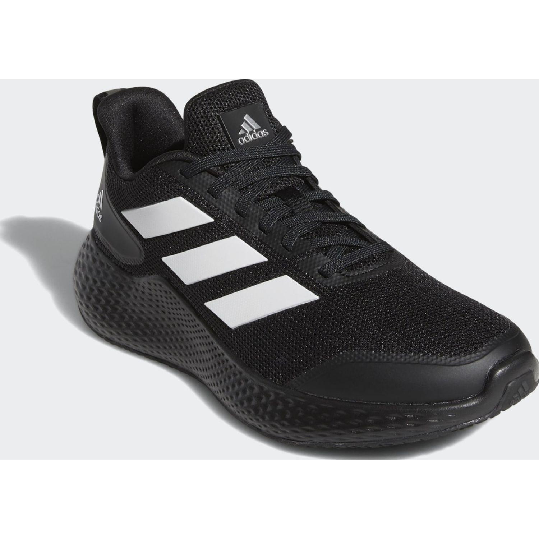 Adidas edge gameday J Negro / blanco Muchachos