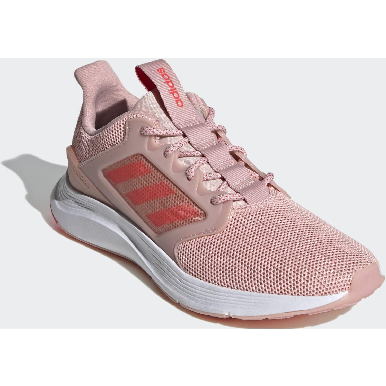 Adidas ENERGYFALCON X Rosado / blanco Running en pista