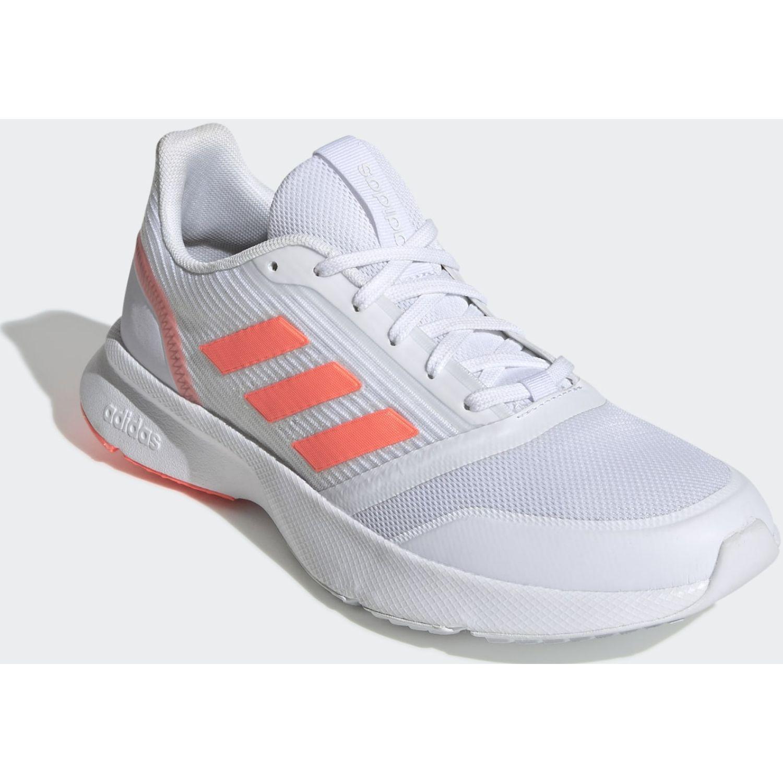 Adidas Nova Flow Gris / rosado Running en pista