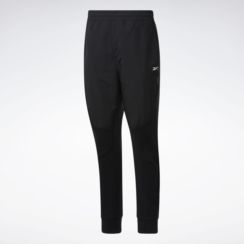 Reebok TS Knit-Woven Jogger Negro Pantalones Deportivos