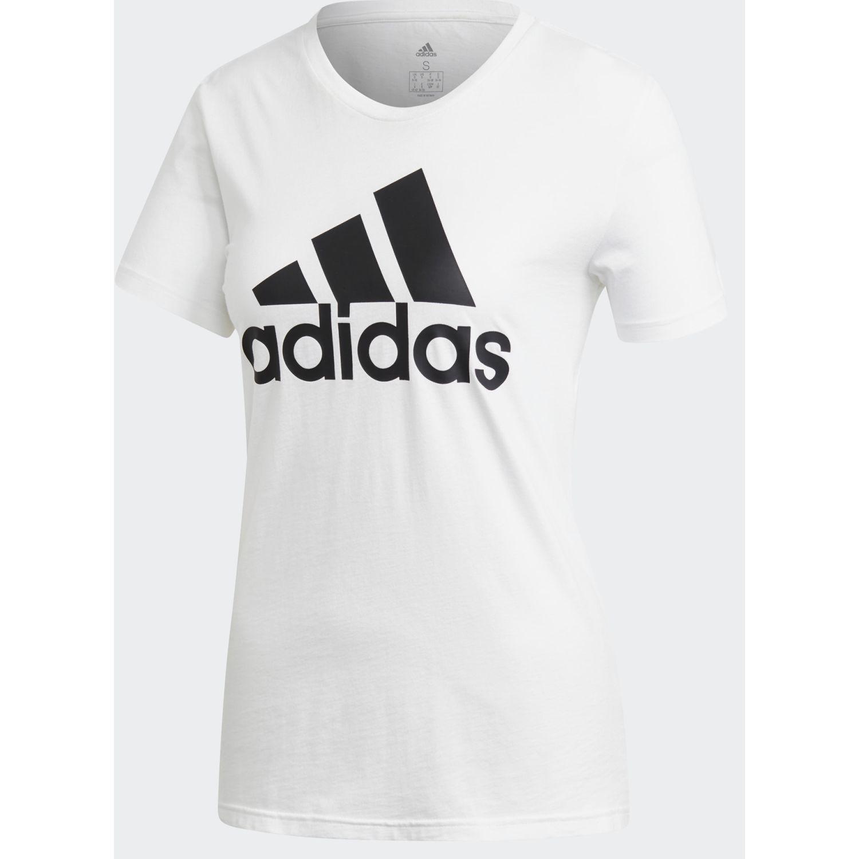Adidas W Bos Co Tee Blanco / negro Polos