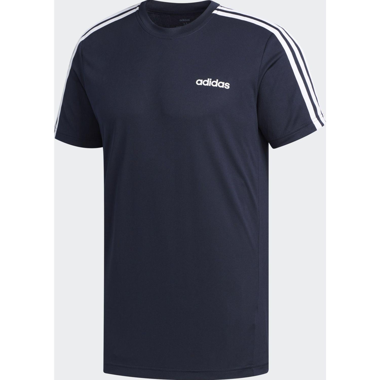 Adidas M D2M 3S TEE Navy Camisetas y Polos Deportivos