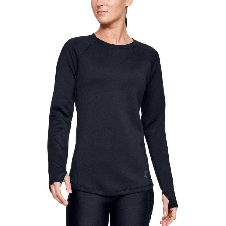 Under Armour ColdGear® Armour para Mujer Negro Sweatshirts Deportivos