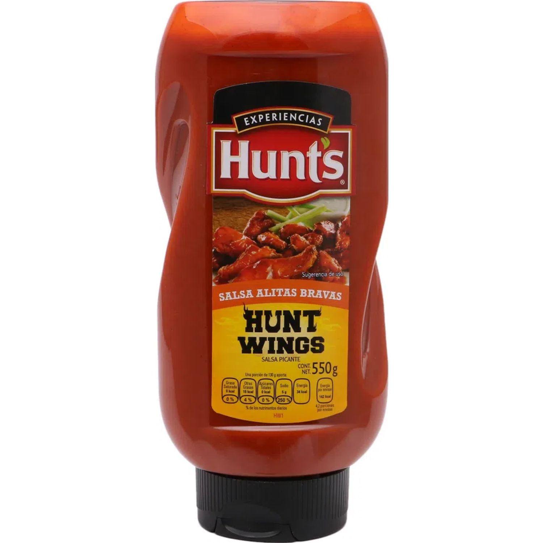 Hunt's Bbq Salsa Alitas Bravas X 550g Sin color Parilla