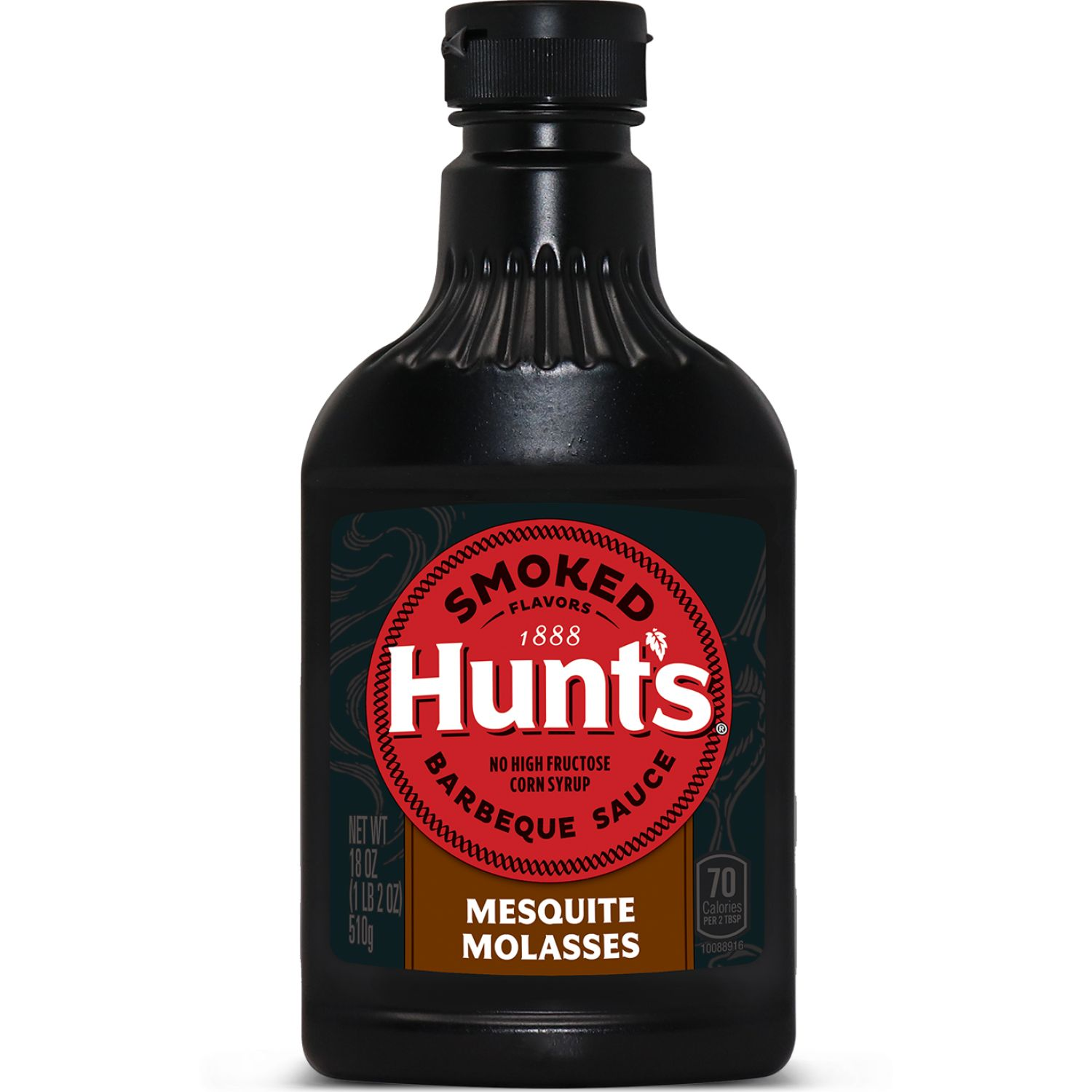 Hunt's Salsa Bbq Ahumada Mesquite Molasses X 18 Oz Sin color Parilla