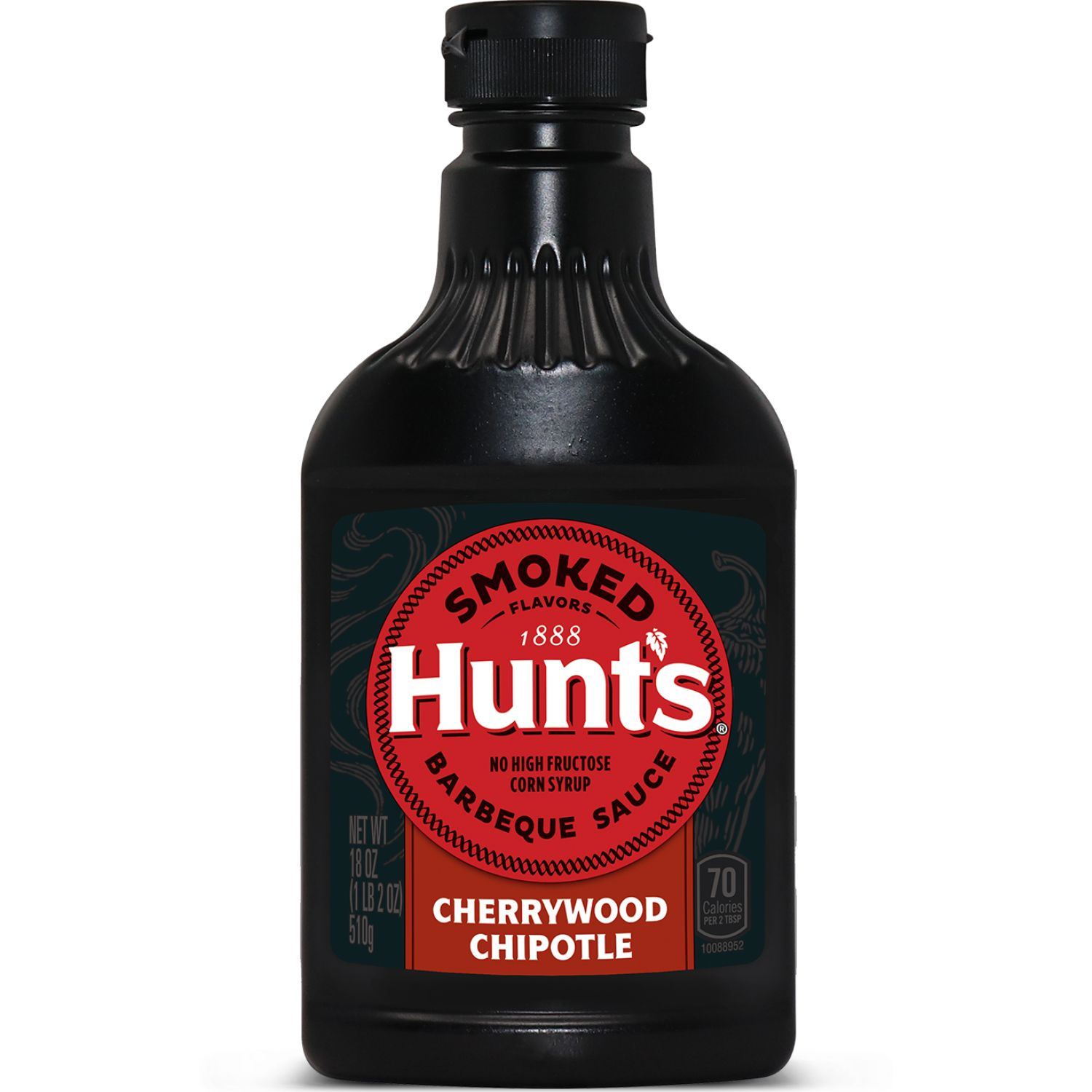 Hunt's Salsa Bbq Ahumada Cherrywood Chipotle X 18 Oz Sin color Parilla