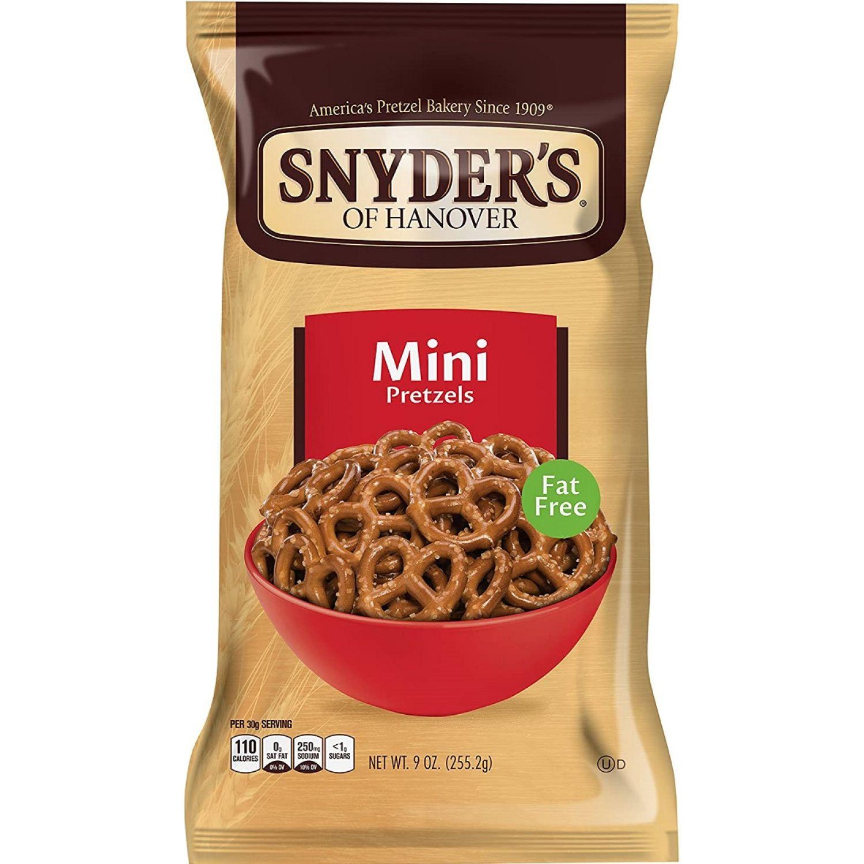 Snyder's Pretzels Mini X 9oz Sin color Pretzels