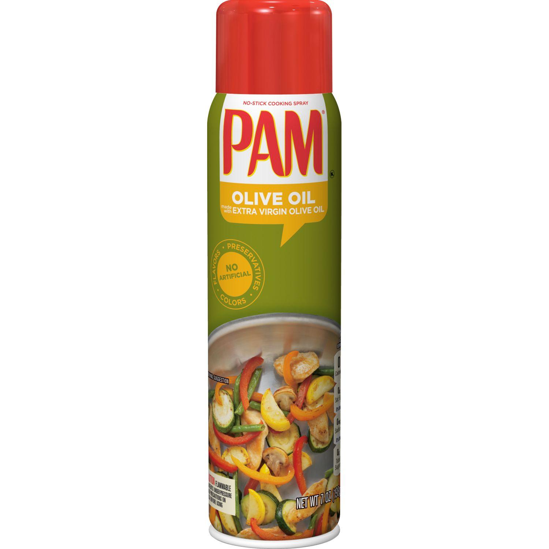 PAM Aceite en Spray Oliva x 5oz Sin color Antiadherente Sprays aceite de cocina