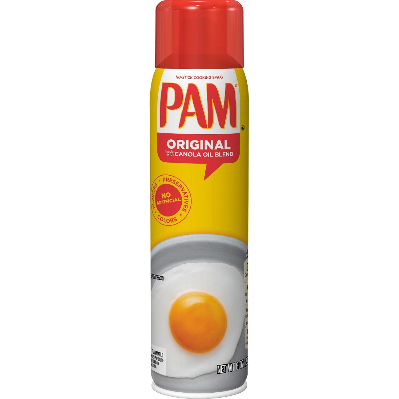 PAM Aceite En Spray Original X 6oz Sin color Antiadherente sprays aceite de cocina