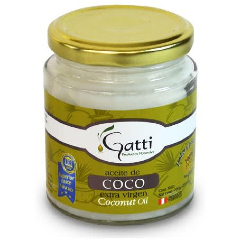 Gatti Aceite Coco X 200g Sin color Coco