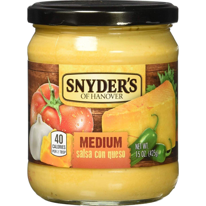 Snyder's Salsa con Queso Sin color Queso fundido