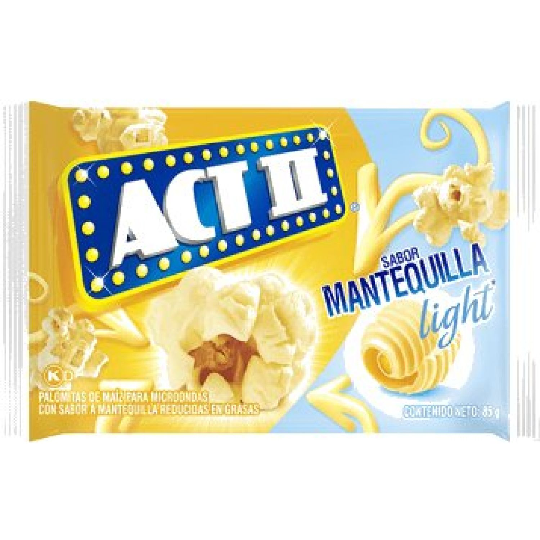 Act II Canchita P/Micro Mantequilla Reducida En Grasas X 85g Sin color Microonda