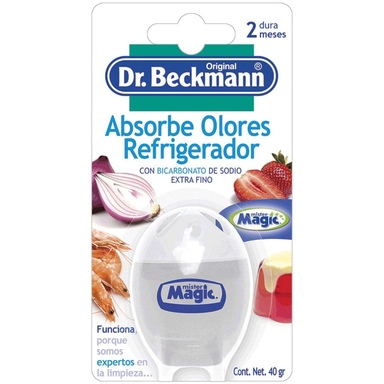 Dr. Beckmann ABSORBE OLORES REFRI BICARBON 40g Sin color Sólidos y líquidos