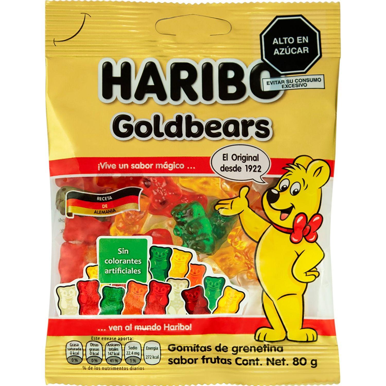 Haribo Gomas Ositos Goldbears 80g Sin color Gomitas