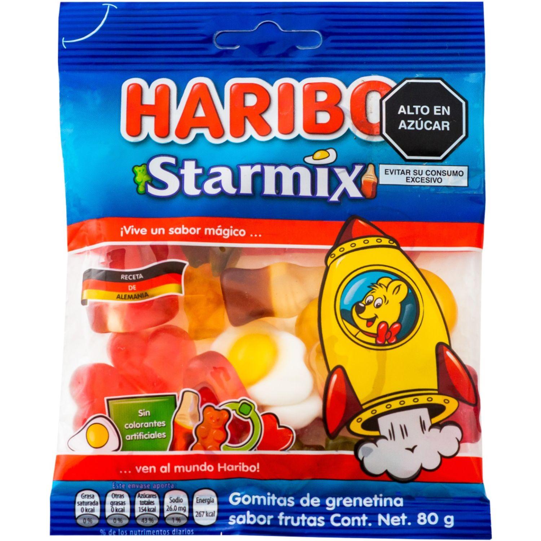 Haribo Gomas De Gelatina Starmix 80g Sin color Gomitas