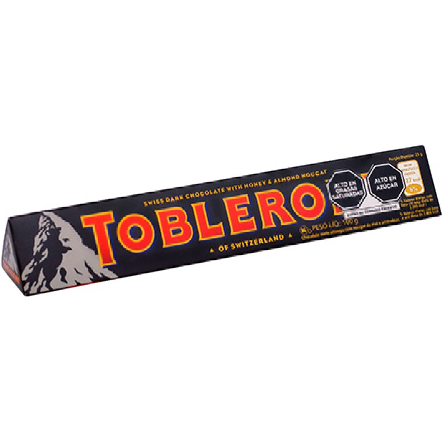 Toblerone Dark 100 Gr Sin color Barras de caramelo y chocolate