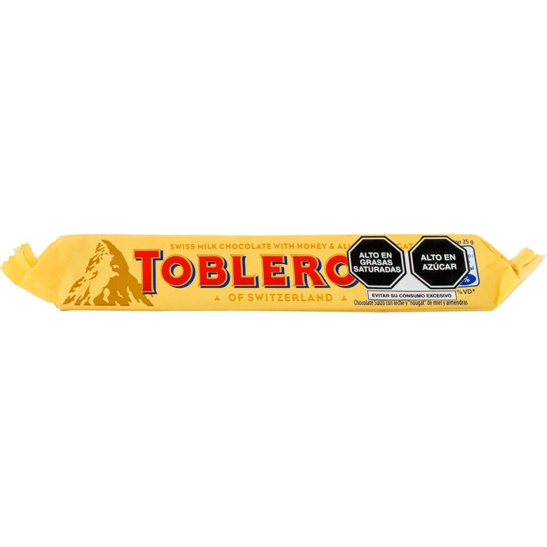 Toblerone Toblerone De Leche 50gr Sin color Barras de caramelo y chocolate