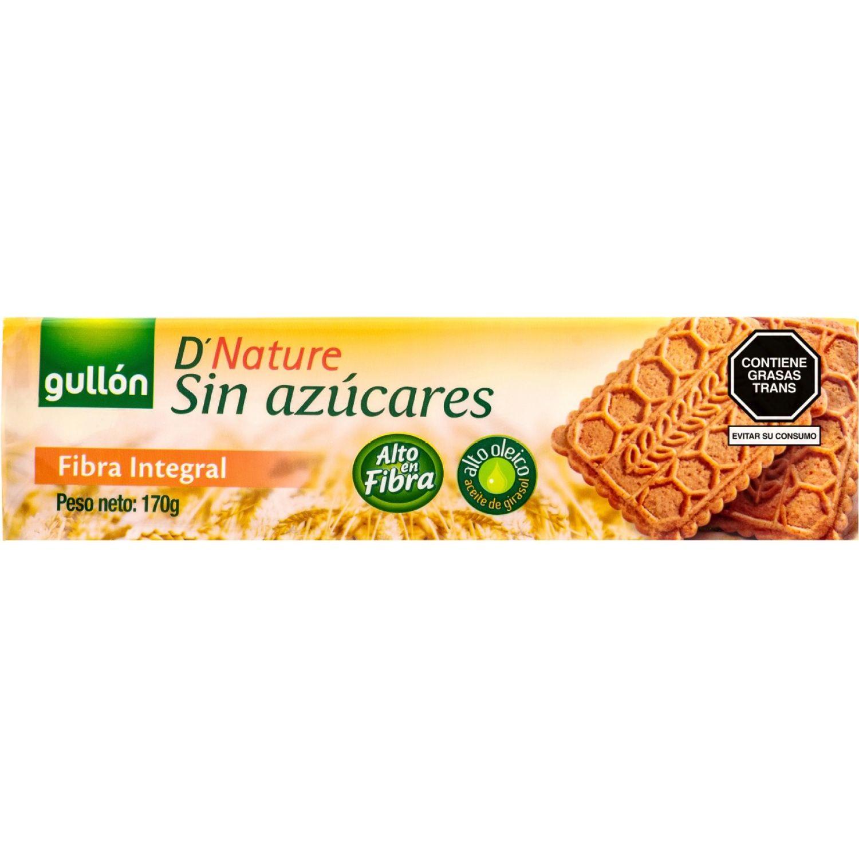 Gullón Fibra Integral Sin Azucar  170g Sin color