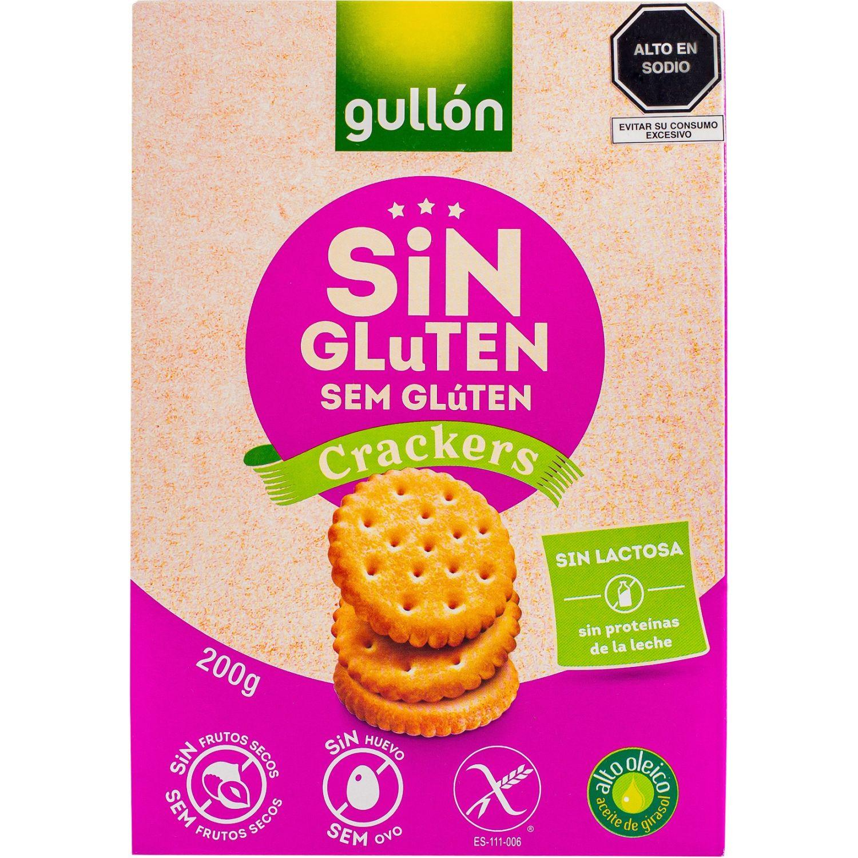 Gullón Galletas Saladas Crakers Sin Gluten 200g Sin color