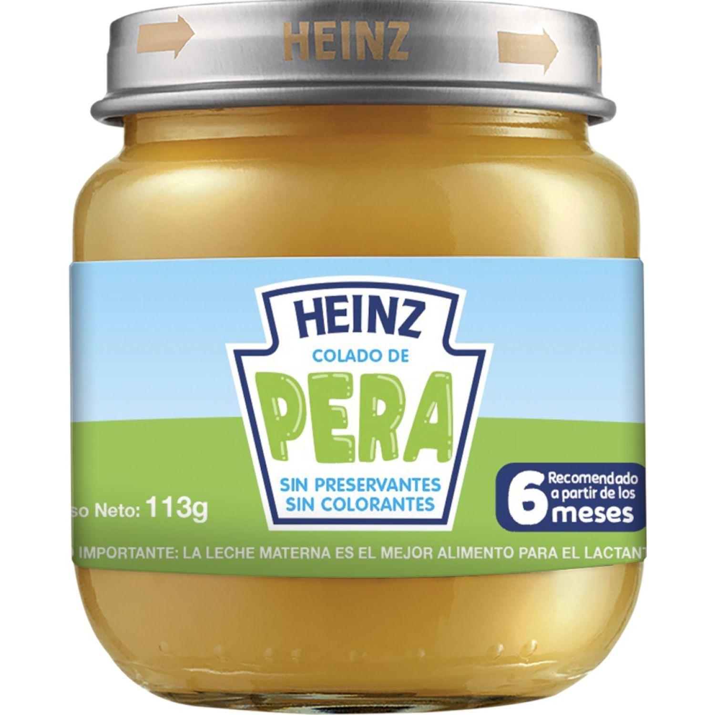 Heinz Colado De Pera 113g Sin color Meriendas