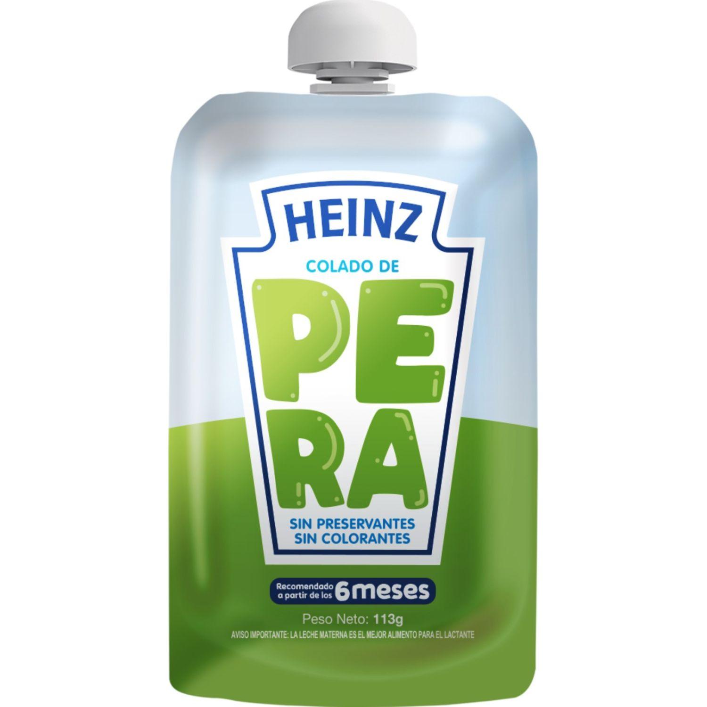 Heinz COLADO FLEX PERA 113G Sin color Meriendas