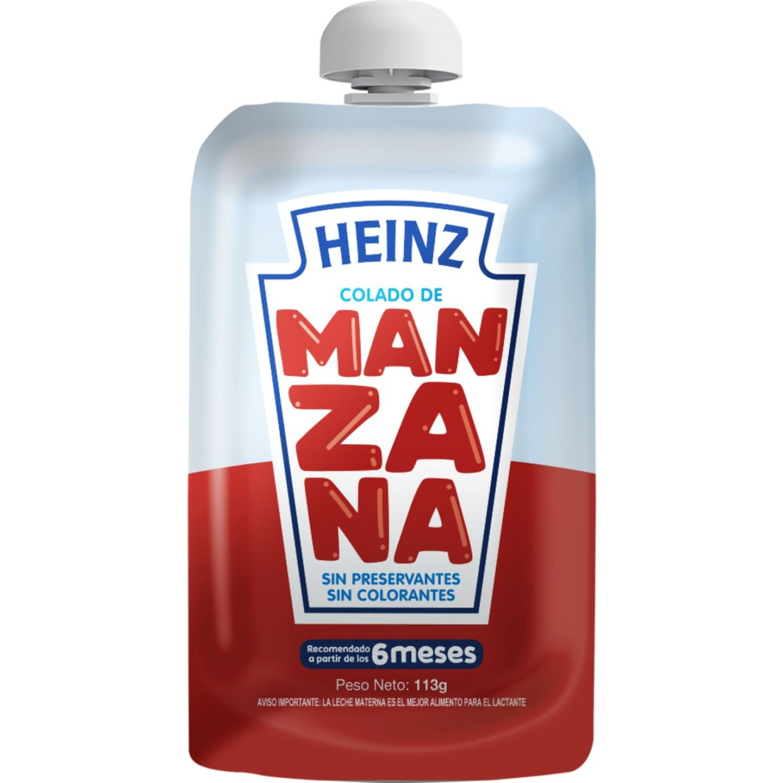 Heinz Colado Flex Manzana 113g Sin color Meriendas