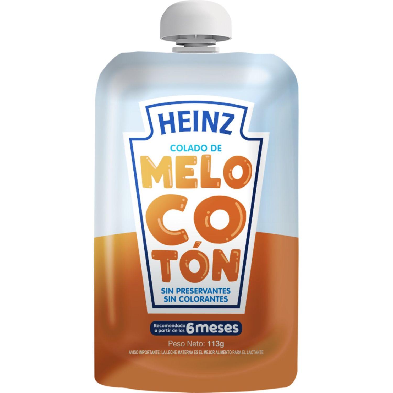 Heinz COLADO FLEX MELOCOTON 113G Sin color Meriendas