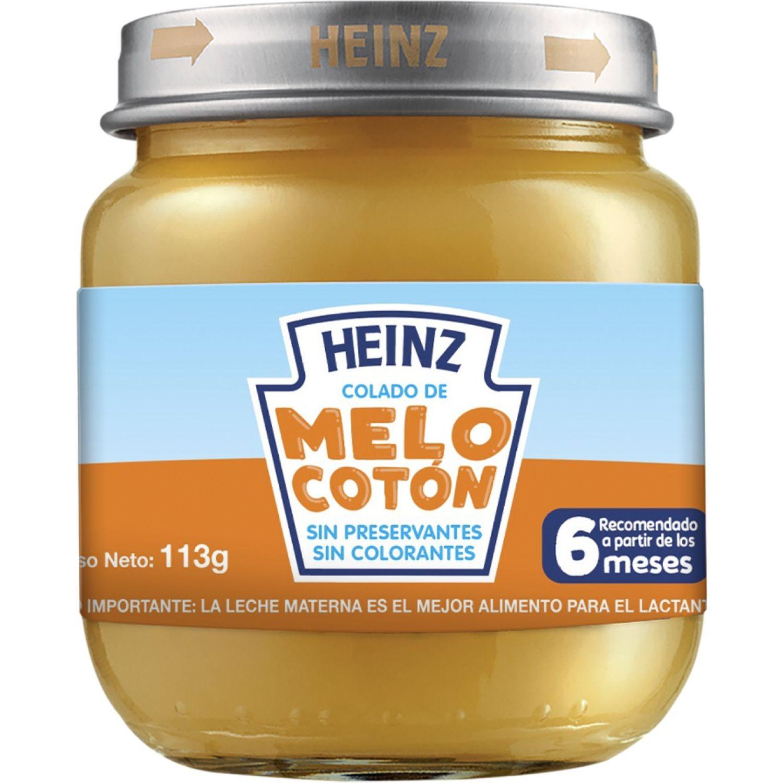 Heinz COLADO FRUTAS MELOCOTON 113G Sin color Meriendas