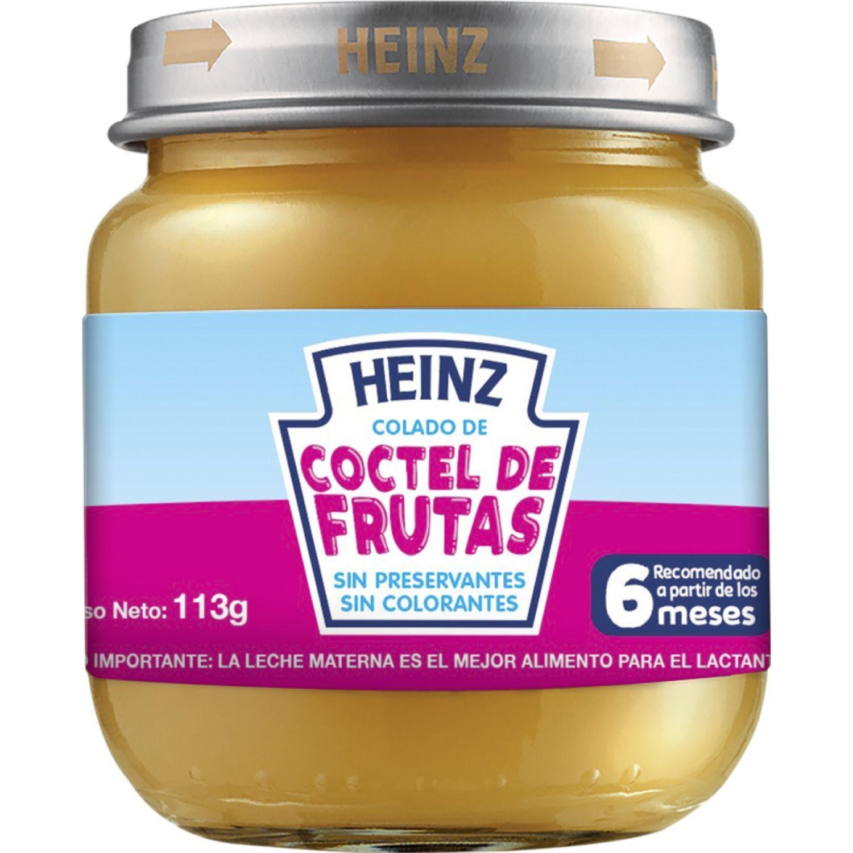 Heinz COLADO POSTRES COCTEL DE FRUTA 113G Sin color Meriendas