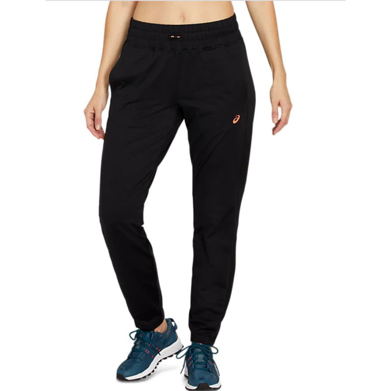 Asics W Fut Tk Thermo Jogger Perf Black Flash Negro Pantalones deportivos