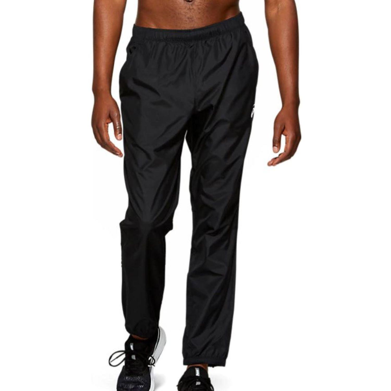 Asics SILVER WOVEN PANT PERFORMANCE BLACK Negro Pantalones Deportivos