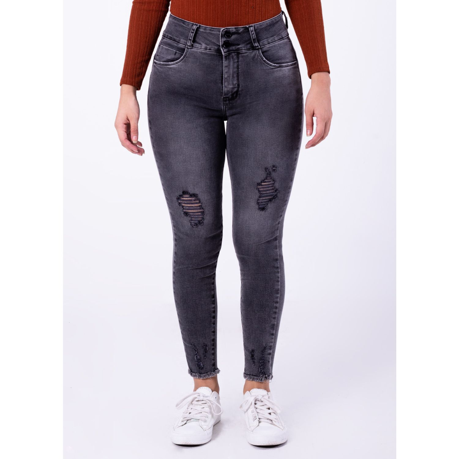PIONIER Jeans Cnt/Tbl Yvanna TOTAL GRAY DSTYR Casual