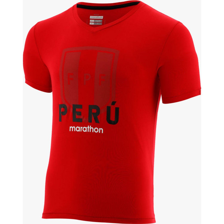 Marathon Camiseta Manga Corta Banc Rojo Camisetas y Polos Deportivos