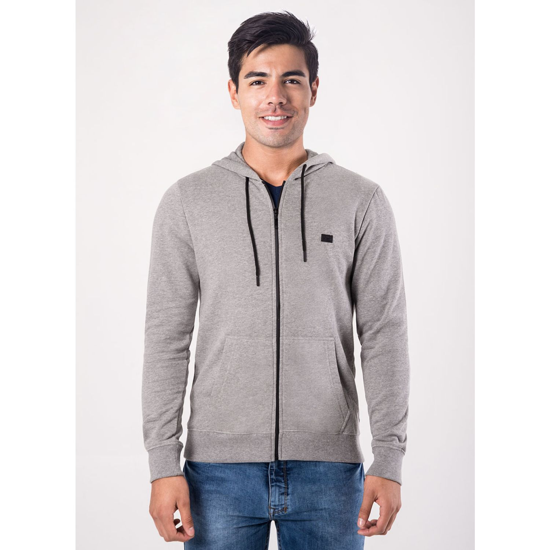 PIONIER POLERA FRANELA C/CAP REG FIT BLAI MELANGE Hoodies y Sweaters Fashion