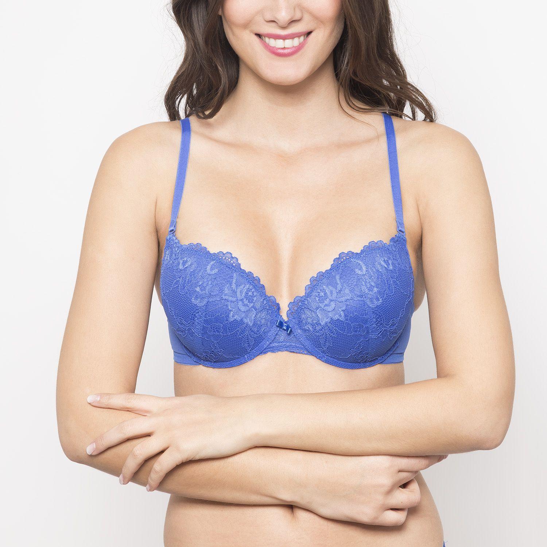 TRIUMPH sostén seducción push up Azul Sostenes para uso diario