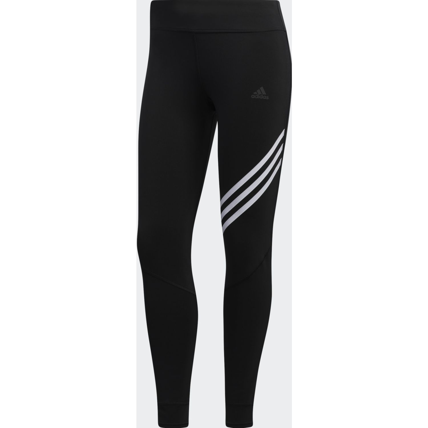 Adidas Run It Tight Negro / blanco Leggings deportivos