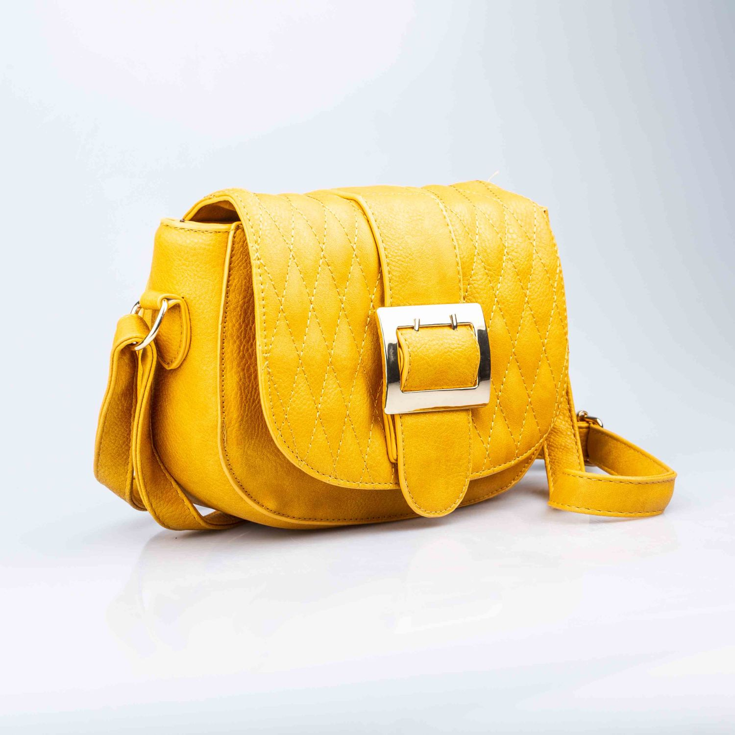 BE SIFRAH Cartera Lady Amarillo Carteras con asa
