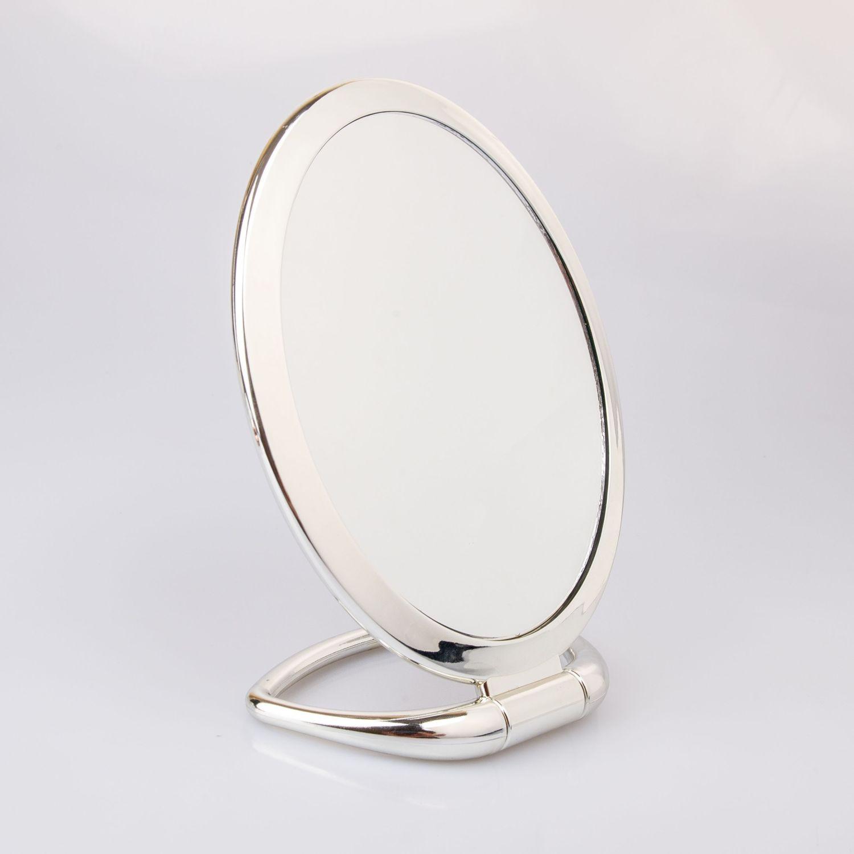 BE SIFRAH Espejo Gia Plateado Espejos de Mano