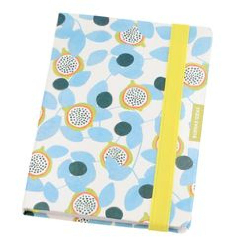 Casaideas Libreta Tapa PU 13x18 cms. Celeste Cuadernos Steno