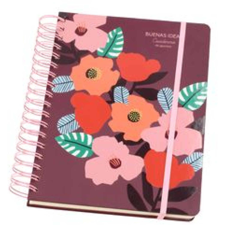 Casaideas Cuaderno 1/2 Oficio 18X24 cms. Varios Cuadernos Wirebound