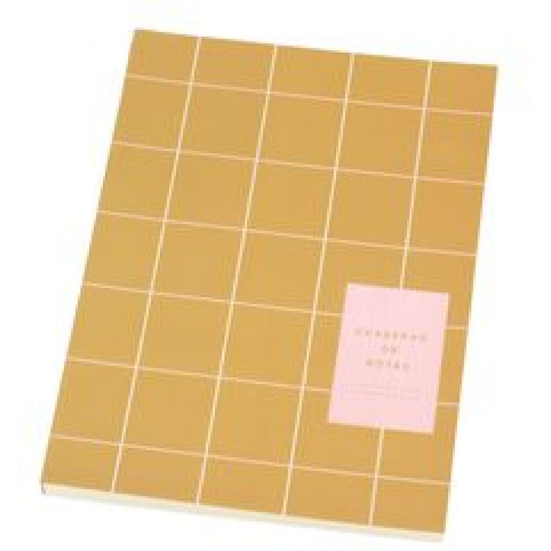 Casaideas Libreta Tapa Papel 18x24 cms. Café claro Cuadernos Steno