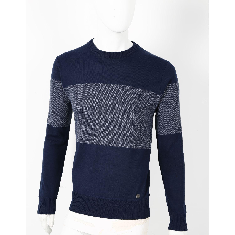 Donatelli CHOMPA BASILIO AZUL MARINO Pullovers