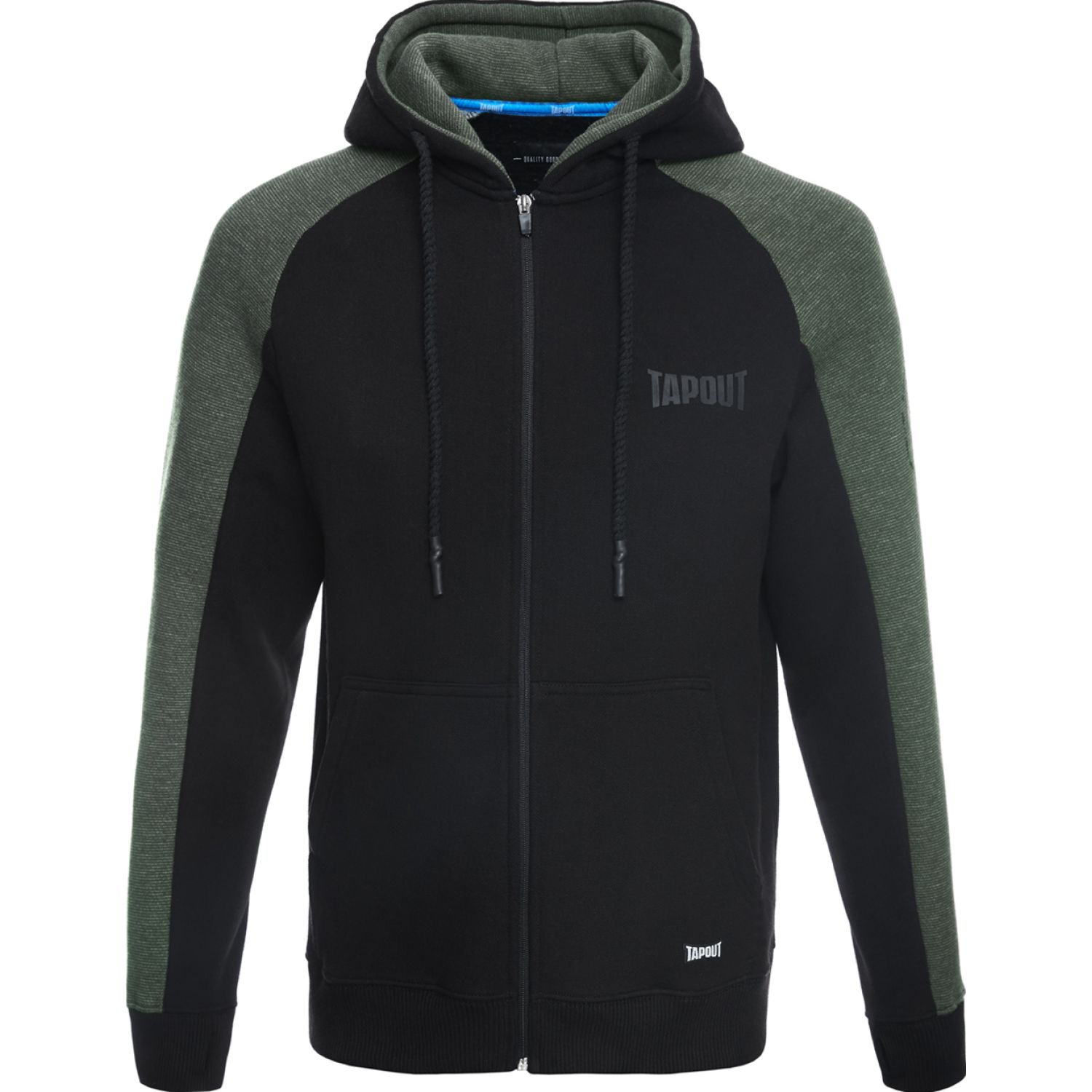 TAPOUT Polera Casual Coke Algodón Negro Hoodies y Sweaters Fashion