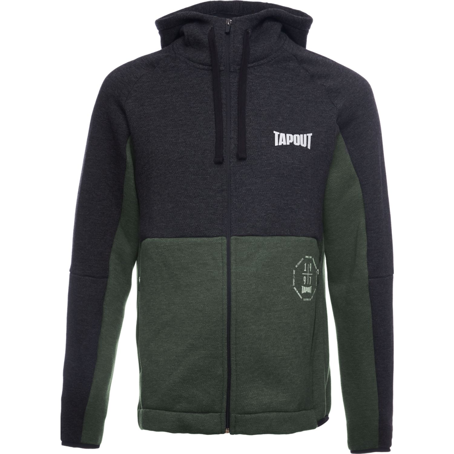 TAPOUT POLERA CASUAL TYRELL ALGODÓN Negro Hoodies y Sweaters Fashion