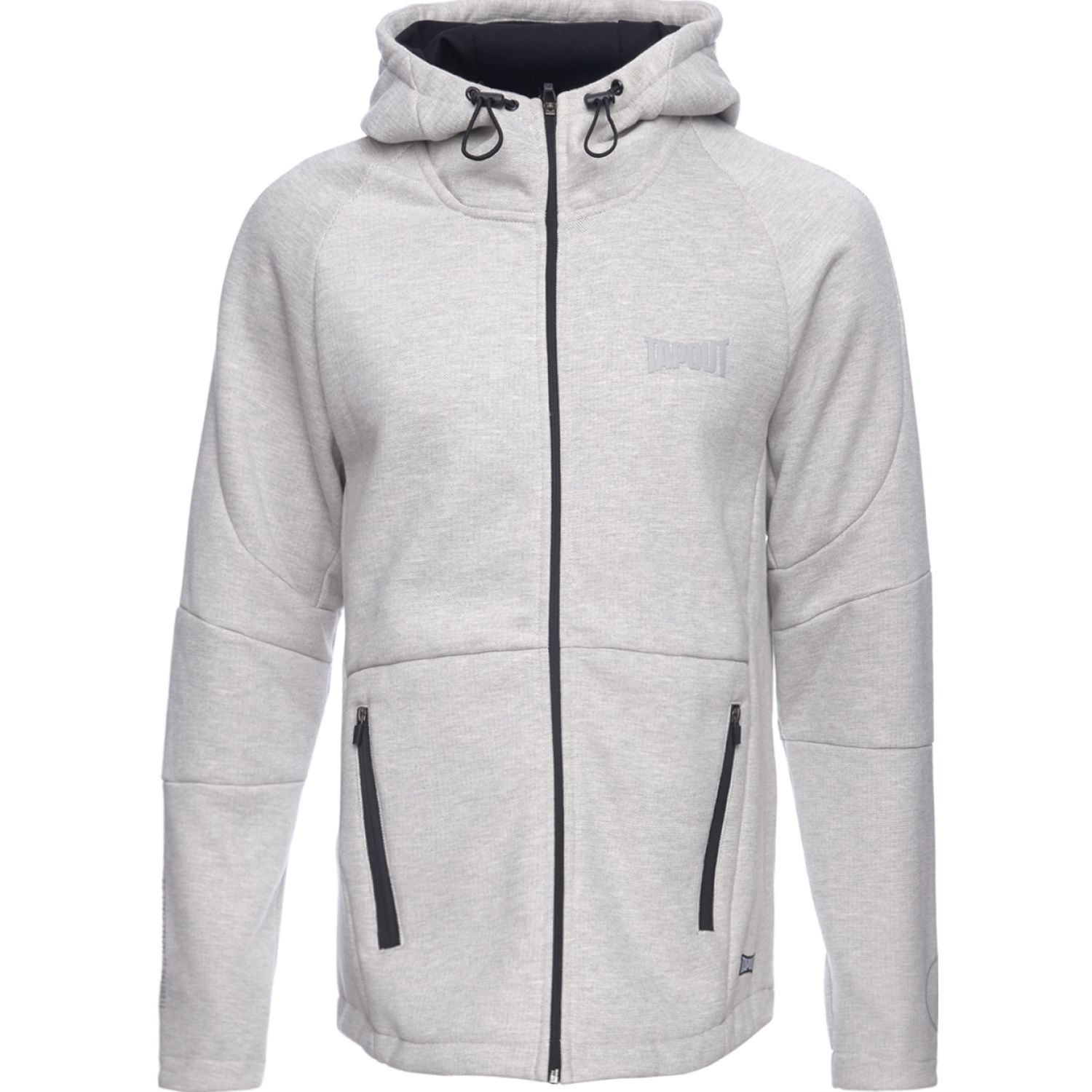 TAPOUT POLERA CASUAL STRIKE ALGODÓN Plata Hoodies y Sweaters Fashion