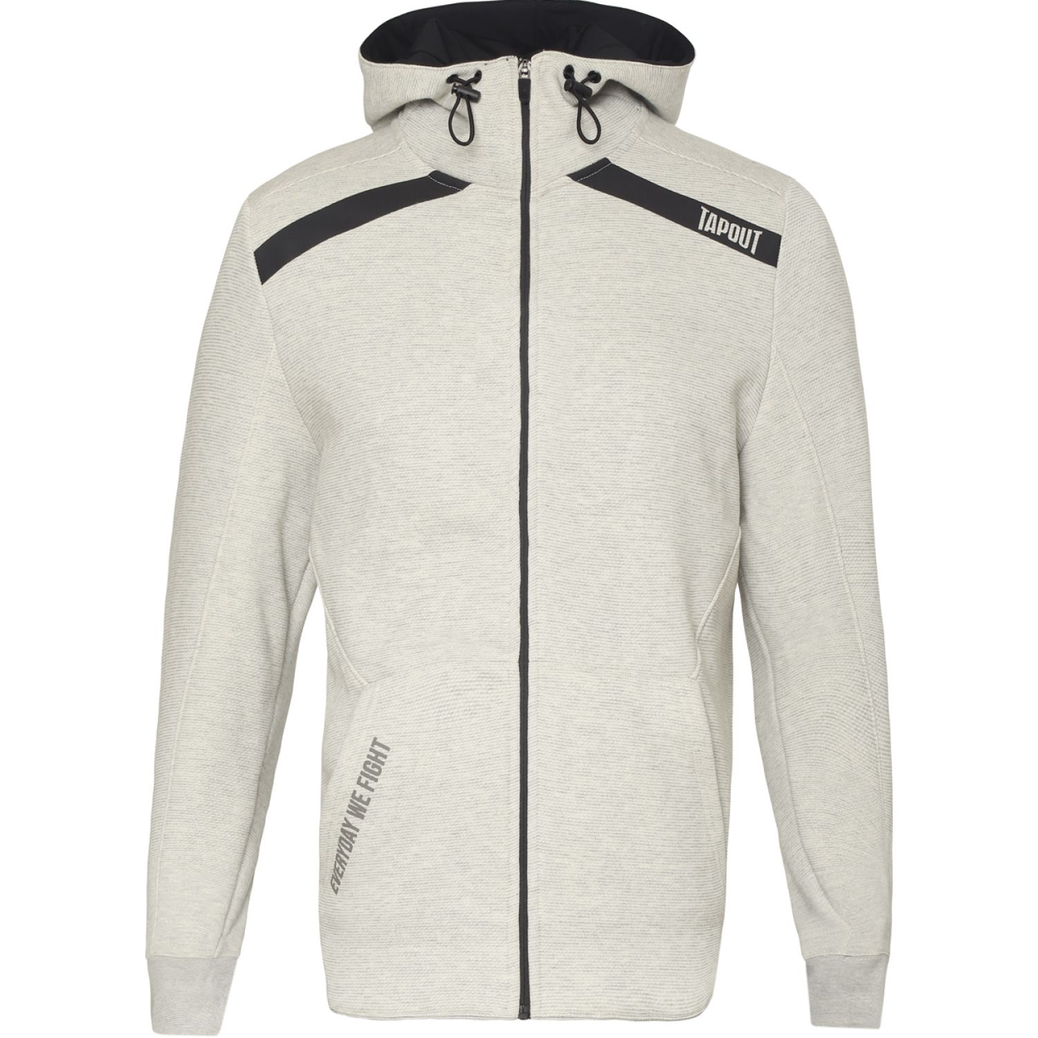 TAPOUT POLERA CASUAL KONGO ALGODÓN Plata Hoodies y Sweaters Fashion