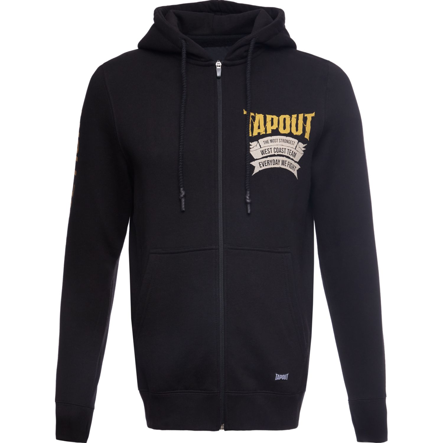 TAPOUT POLERA CASUAL STRONGEST ALGODÓN Negro Hoodies y Sweaters Fashion